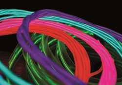 Exploring the endless possibilities of electroluminescent wire