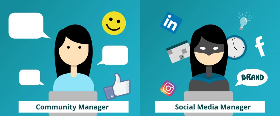 Community managers vs social media managers