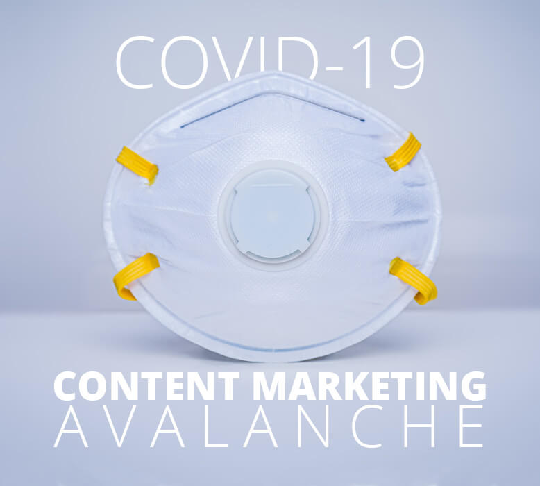 Your business shouldn't add to the COVID-19 content avalanche – here's why